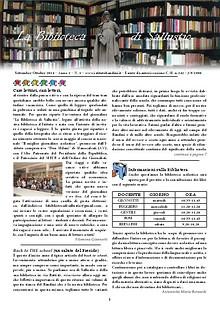 La biblioteca di Sallustio - Numero 1