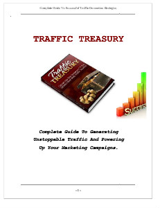 a South florida based magazine that focuses on the entertainment industry and the night life scene. Traffic-Treasury