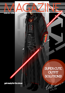 The Sith Magazine 4 - Two sworded guy