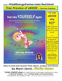Free eBook Preview: Feel Like Yourself Again by Marci Javril
