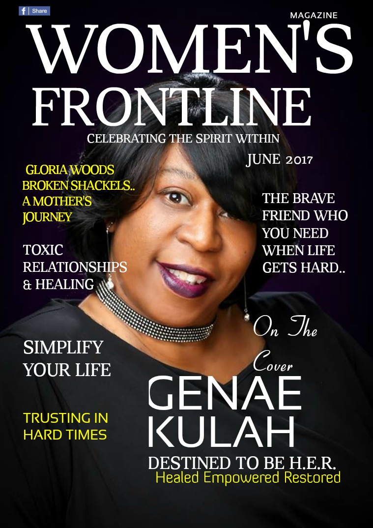 WOMEN'S FRONTLINE MAGAZINE JUNE