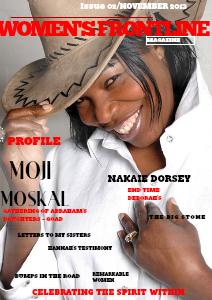 WOMEN'S FRONTLINE MAGAZINE ISSUE Issue 02 November 2013