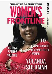 WOMEN'S FRONTLINE MAGAZINE ISSUE