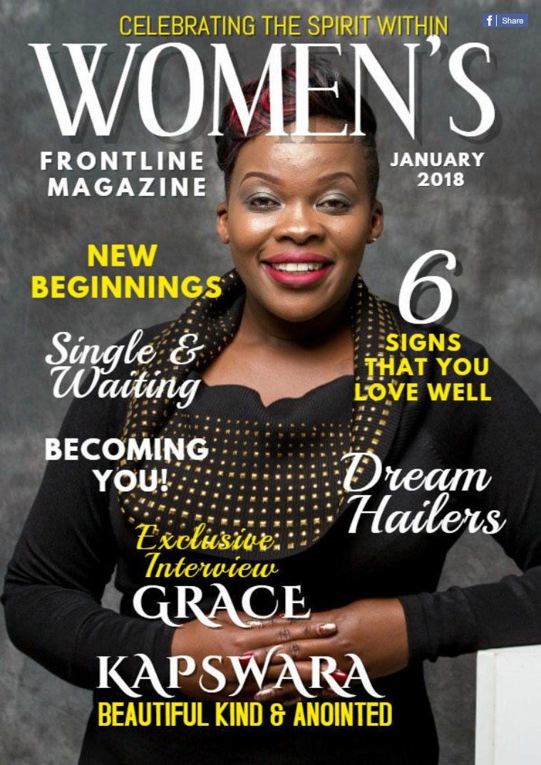 WOMEN'S FRONTLINE MAGAZINE ISSUE January 2018 Issue nr.1