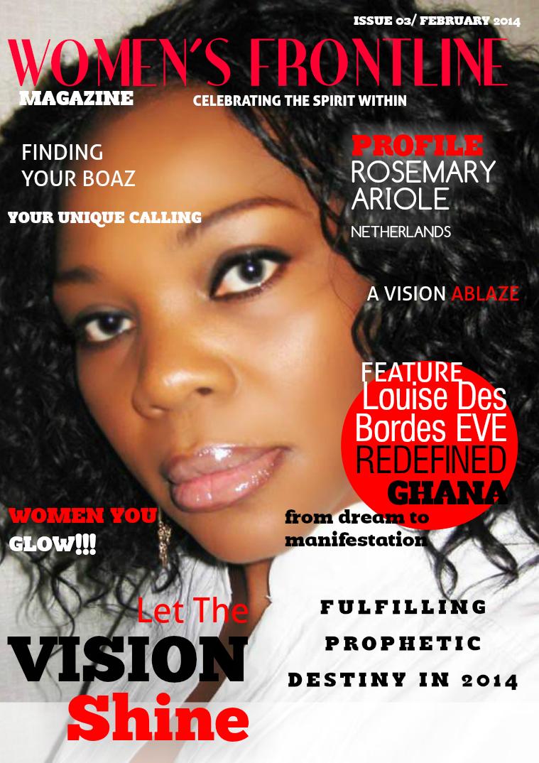 WOMEN'S FRONTLINE MAGAZINE ISSUE clone_Magazine 3