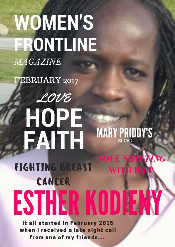 WOMEN'S FRONTLINE MAGAZINE ISSUE February 2017