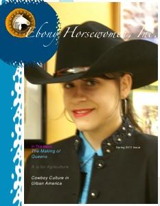 UrbanHorsePower Ebony Horsewomen Magazine 1st Edition