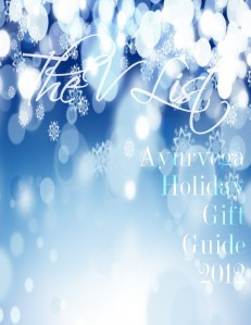 The V List Holiday Gift Guide 2012