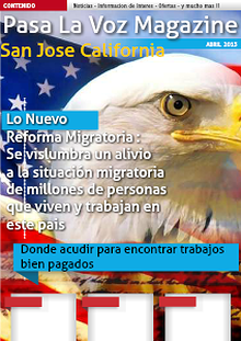 Pasa La Voz Magazine