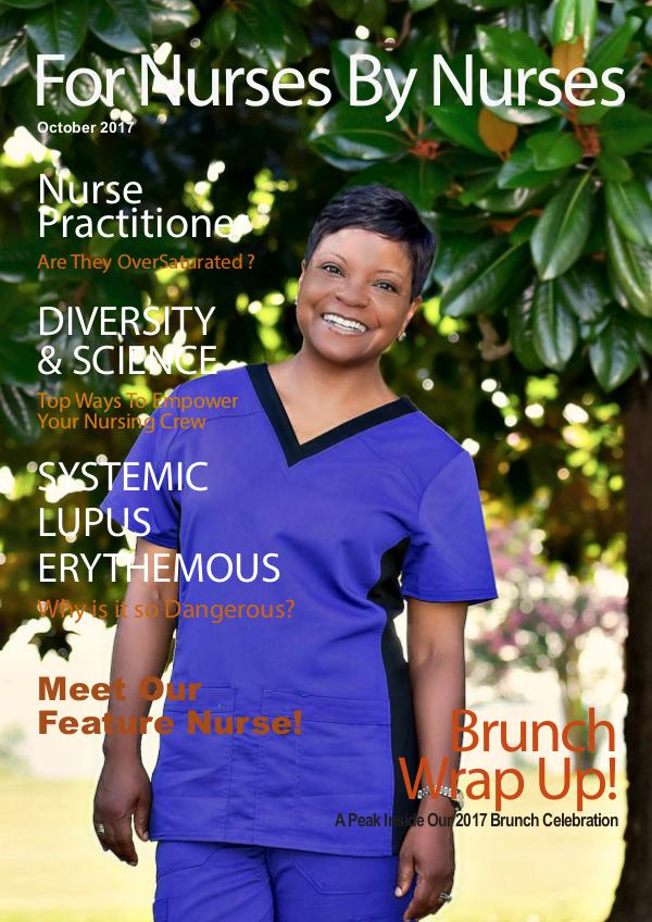 For Nurses By Nurses October 2017 Digital Issue October 17