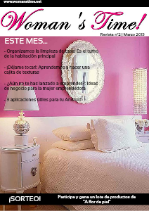 Woman's Time! Revista nº2 - Marzo 2013