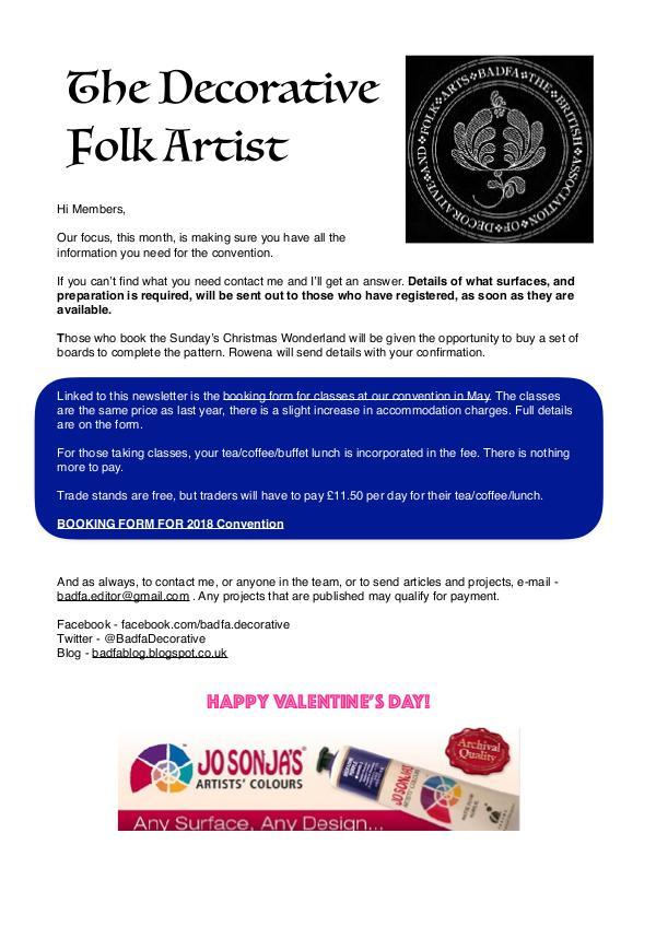 The Decorative Folk Artist Issue 105