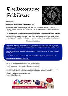 The Decorative Folk Artist