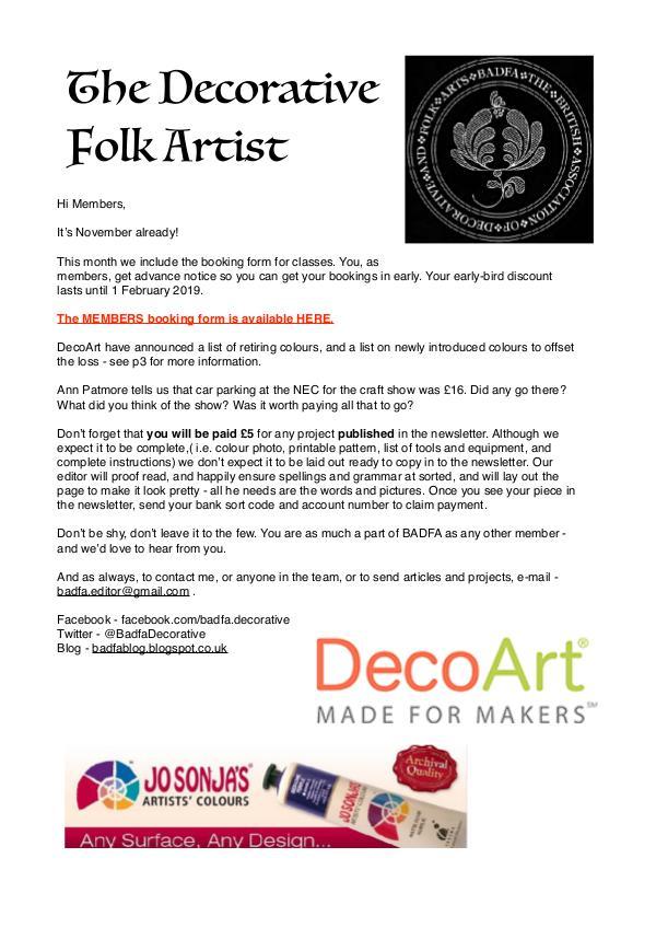The Decorative Folk Artist Issue 113