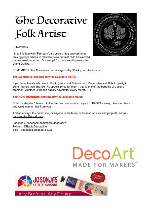 The Decorative Folk Artist Issue 116