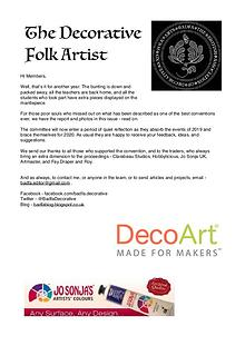 The Decorative Folk Artist