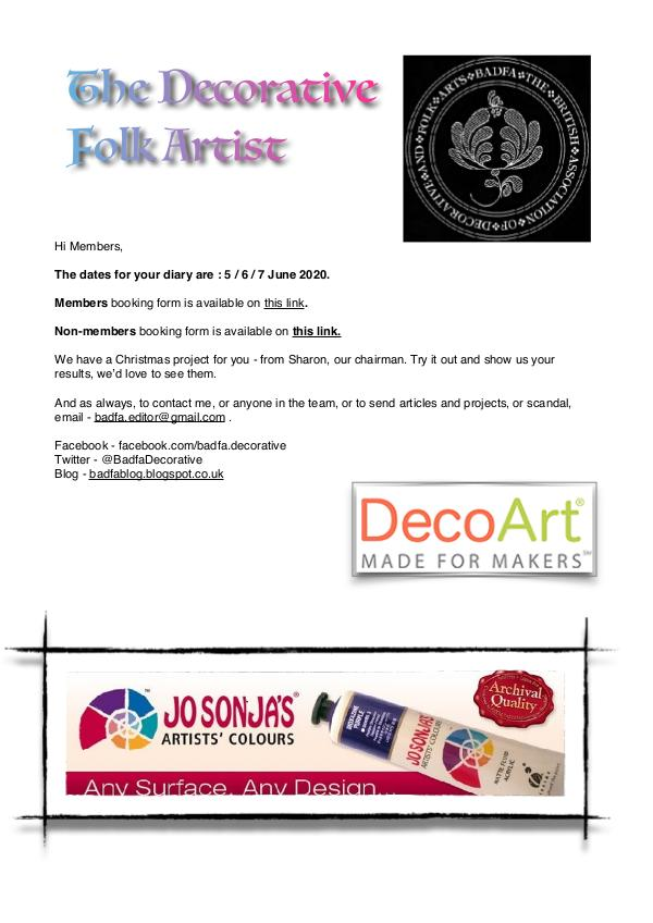 The Decorative Folk Artist Issue 126