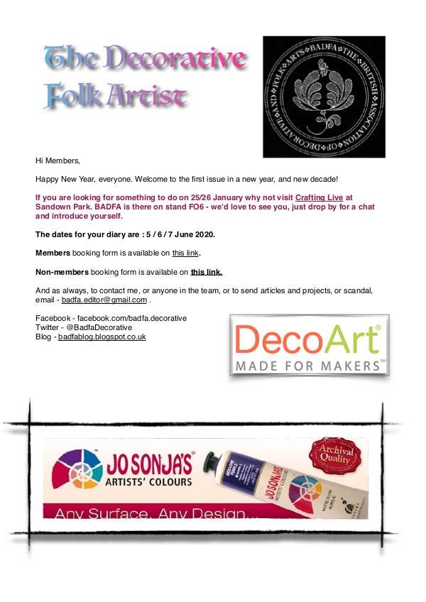 The Decorative Folk Artist Issue 127