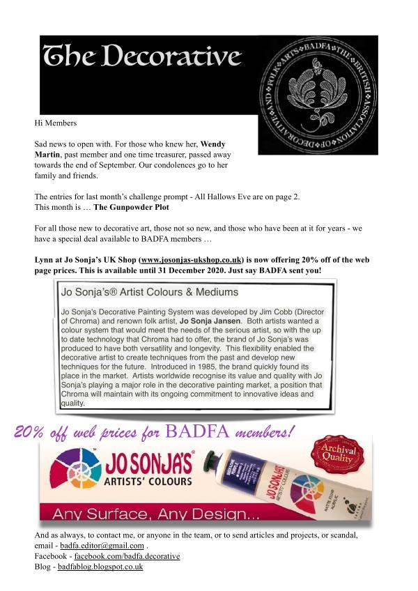 The Decorative Folk Artist Issue 136