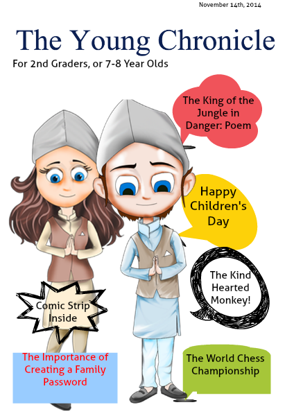 The Young Chronicle: For 2nd Graders November 14th, 2014