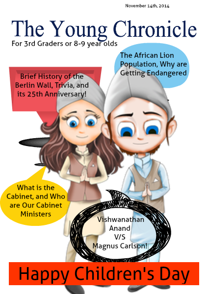 The Young Chronicle: For Grade 3 3rd graders or 8-9 year olds