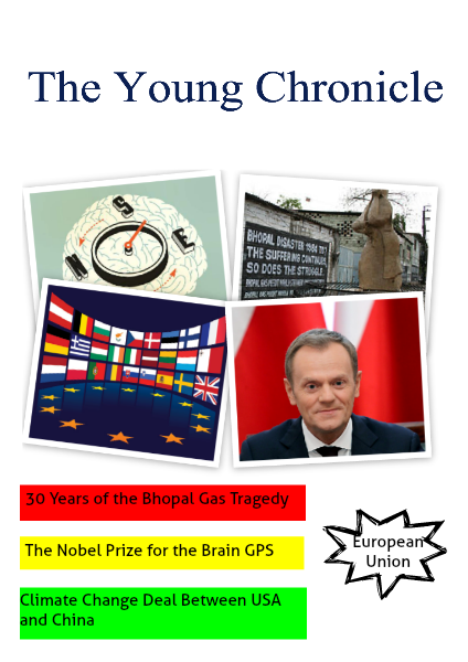 The Young Chronicle: For Grade 3 December 5th, 2014