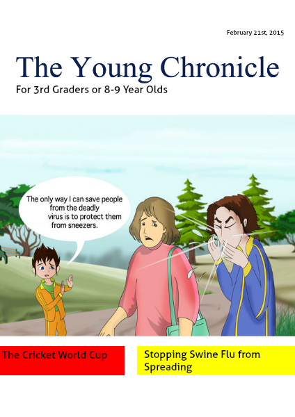 The Young Chronicle: For Grade 3 February 21st, 2015