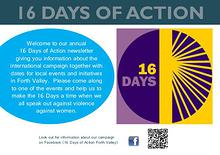 16 Days Of Action Newsletter