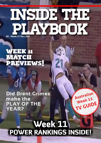 Inside The Playbook Week 11 2014