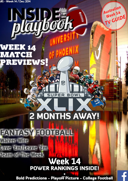 Inside The Playbook Week 14 2014