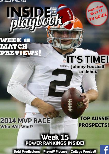 Inside The Playbook Week 15 2014