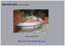 benchmark product catalogue 2014