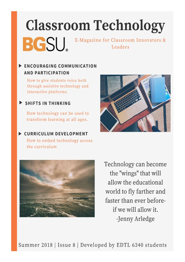 BGSU Classroom Technology E-Mag Summer 2018