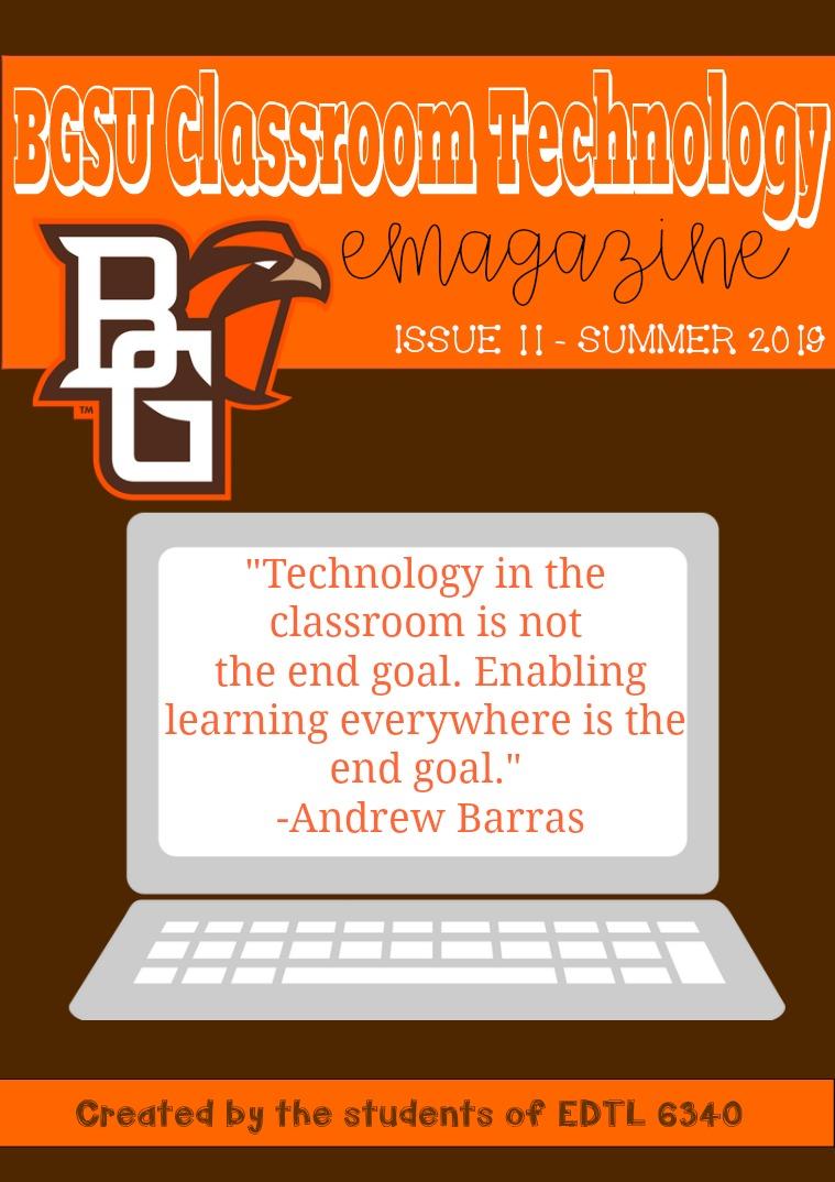BGSU Classroom Technology E-Mag Summer 2019