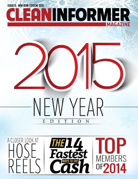 Clean Informer Magazine New Year Edition 2015