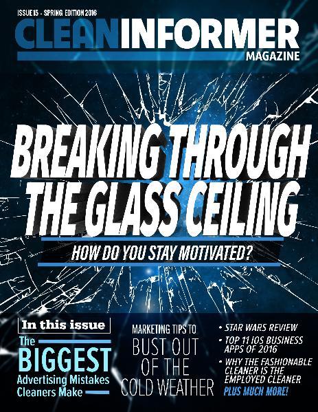 Clean Informer Magazine Spring 2016