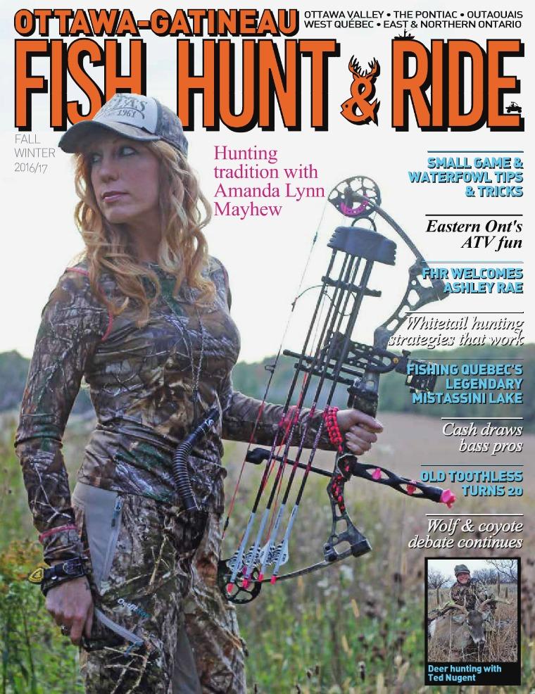 Fish, Hunt & Ride Magazine (Fall/Winter) FISH, HUNT & RIDE
