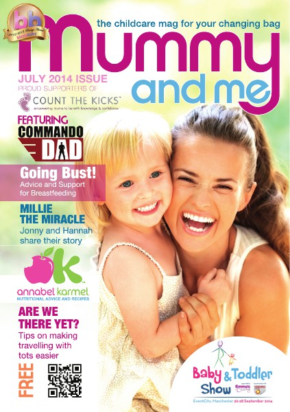 Mummy and Me Magazine August 2014 July 2014