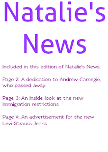 Industrial Inquirer Natalie's News