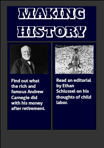 Making History Child Labor?