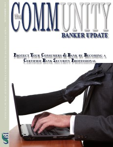 Community Bankers of Iowa Monthly Banker Update November 2013