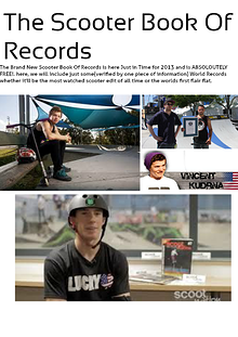 The Scooter Book of Records