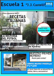 Revista Escuela 1 2013