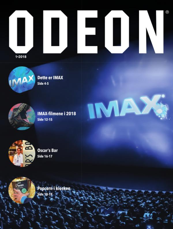 ODEON OSLO ODEON magasinet 1•2018