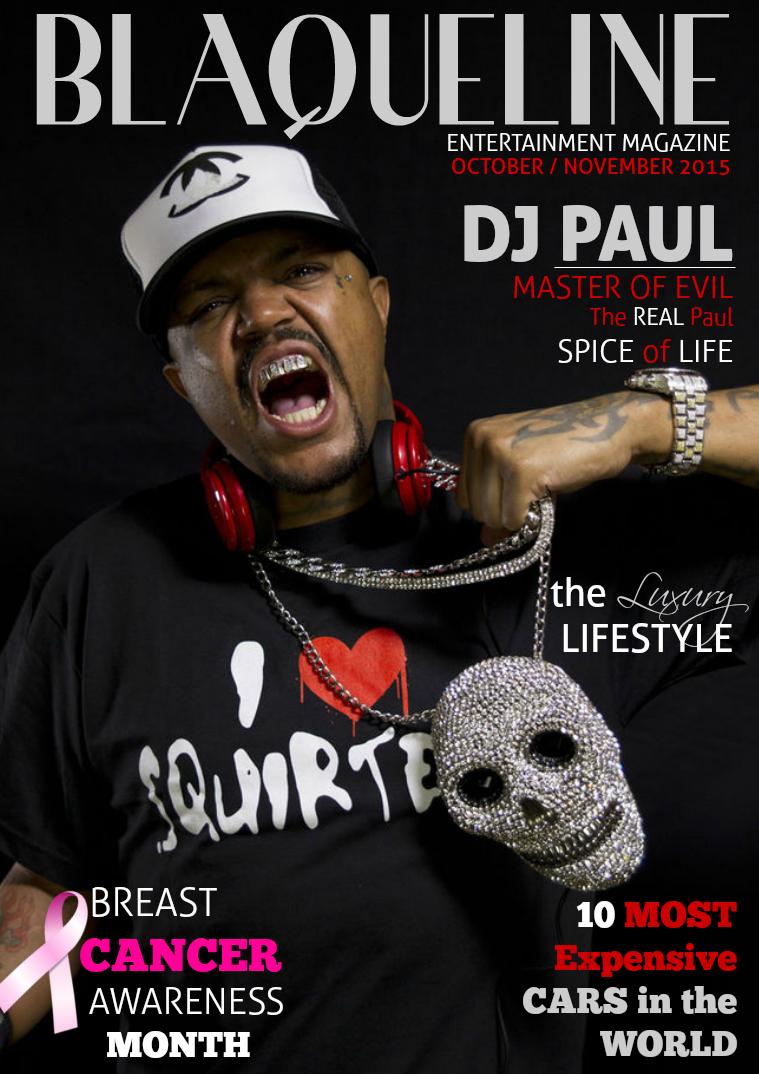 BLAQUELINE Entertainment Magazine - Issue 06
