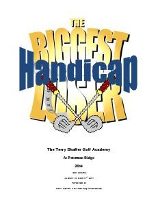 Biggest Handicap Loser Program Overview