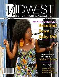 Midwest Black Hair Magazine October 2012