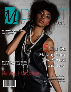 Midwest Black Hair Magazine March 2013