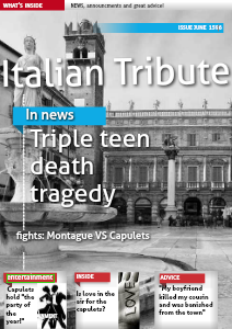 Italian Tribute June 1596