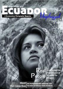 Ecuador Unplugged Vol 1. Issue 1
